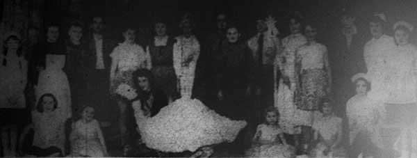 1959 Lewannick pantomime 'Mother Goose.'