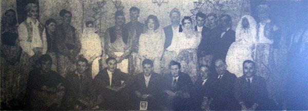 1961 Lewannick pantomime 'Ali Babba.'