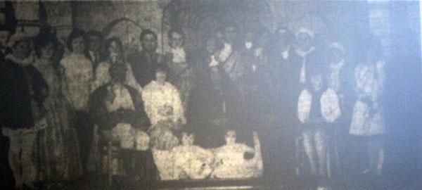 1966 Lewannick pantomime 'Old King Cole.'