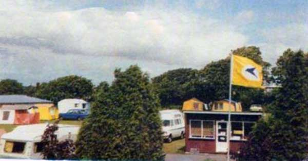 Trevadlock Holiday Park in 1985.