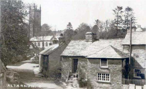 Altarnun Post Office c.1930's.