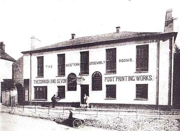 Western Subscription Rooms, Launceston