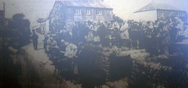 Wesleyan Service at Wesley Cottage, Trewint in 1985.