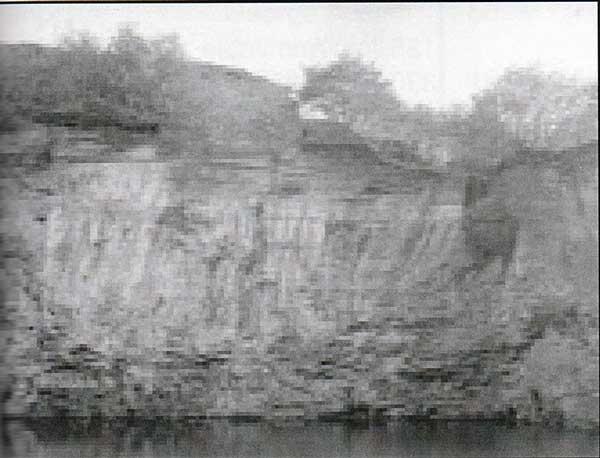 Bangors Slate Quarry in 1909.