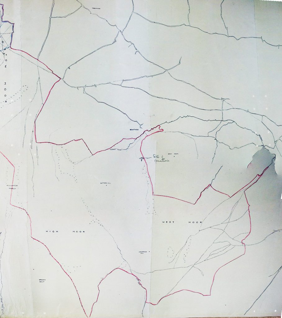 Buttern Hill Mining Operations Map
