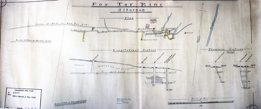 Fox Tor Mine Plan