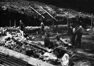 Hawkswood Wolfram Mine in the 1950's.