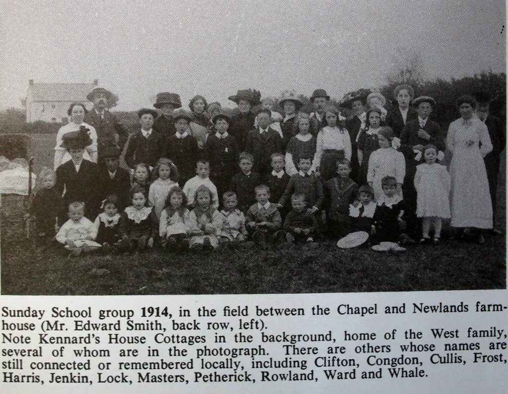 Kennards House Sunday School 1914