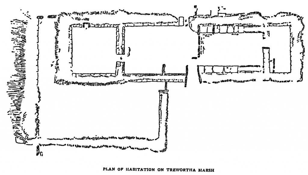 Plan of Trewortha Marsh Habitation