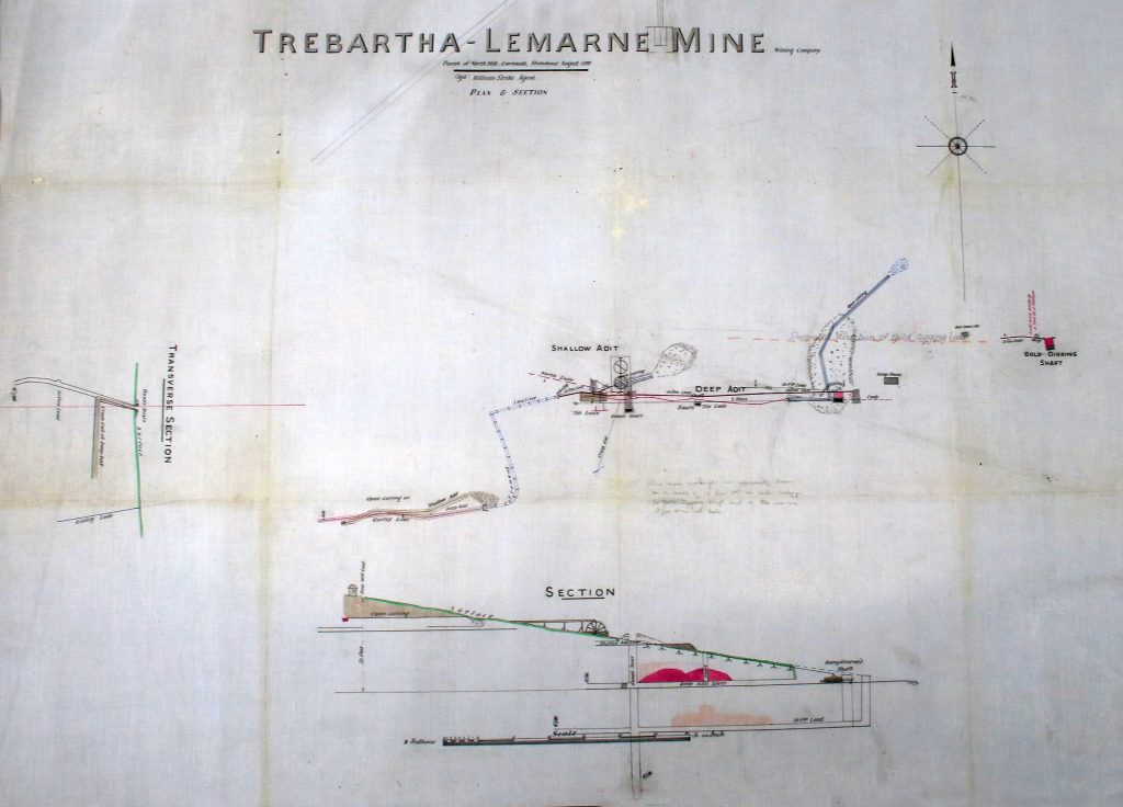 Trebartha-Lemarne Mine plan