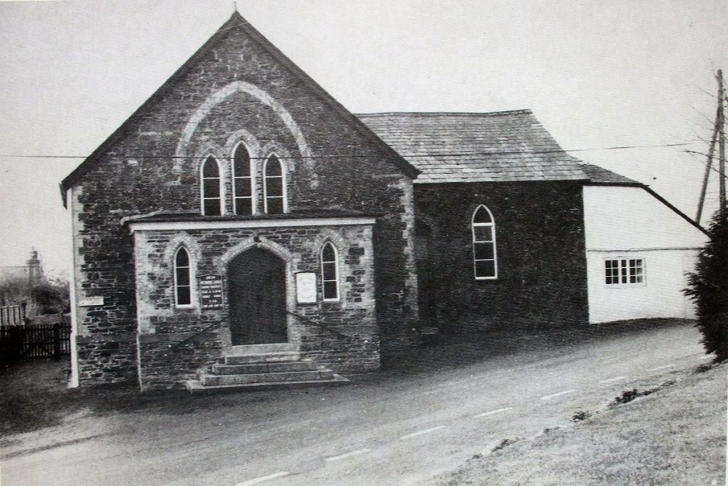 Boyton Methodist Chapel in 1989