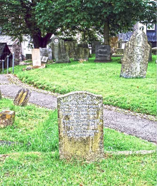 John Ley Pethbridge's grave.