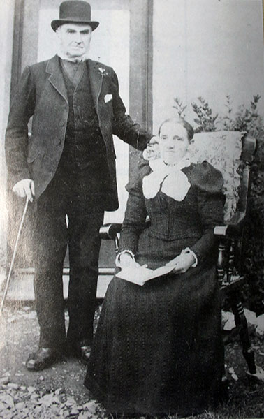 Richard Smith and his wife,