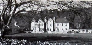 Sydenham House in 1977. Western Elevation
