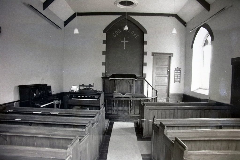 Trecollas Chapel Altar