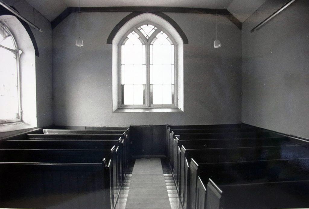 Trecollas Chapel Interior