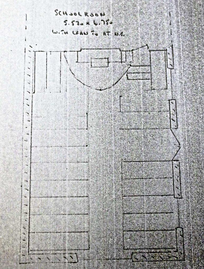 Trecollas Bible Christian Chapel Plan