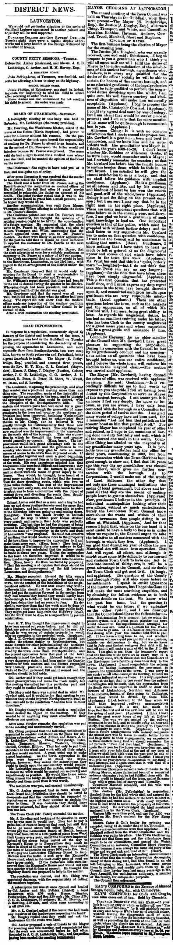 11 November 1882