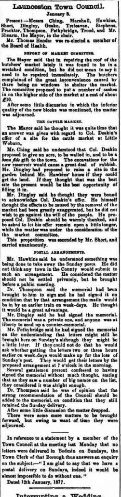 13 January 1877
