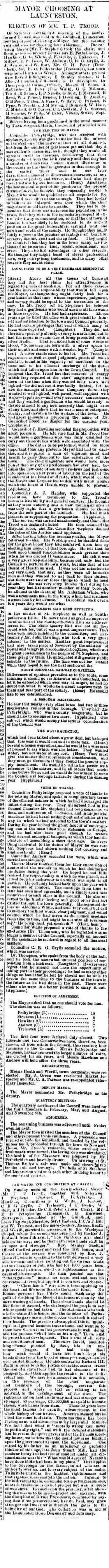 16 November 1889