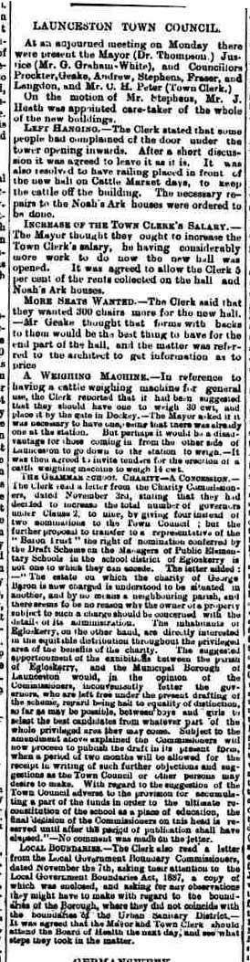19 November 1887