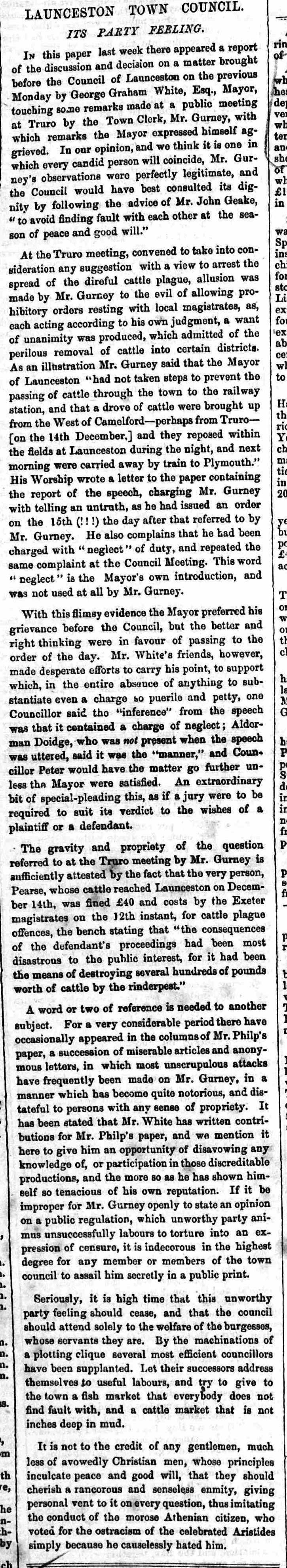 20 January 1866