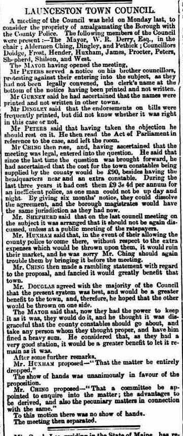 21 January 1863