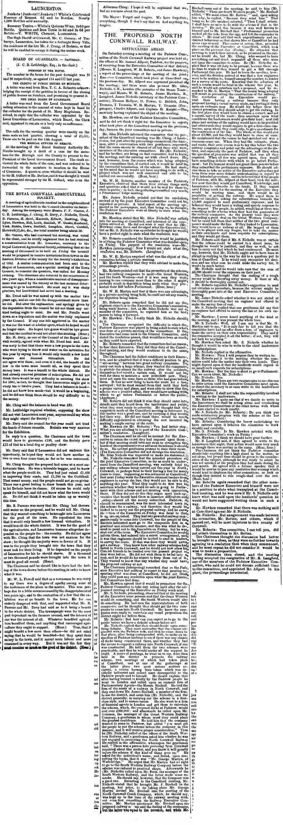 23 July 1881
