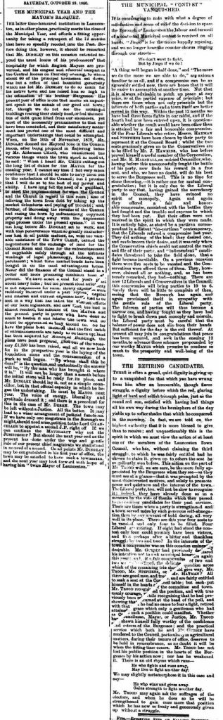 23 October 1880