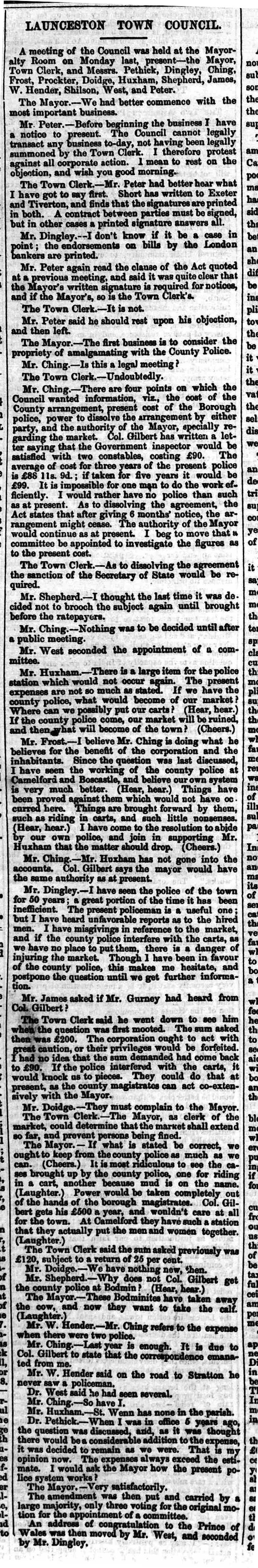 24 January 1863