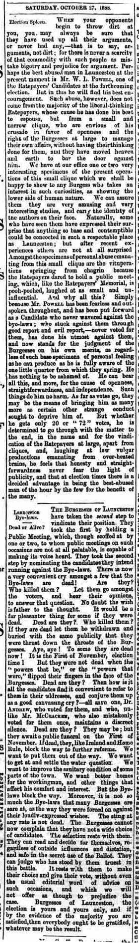 27 October 1888