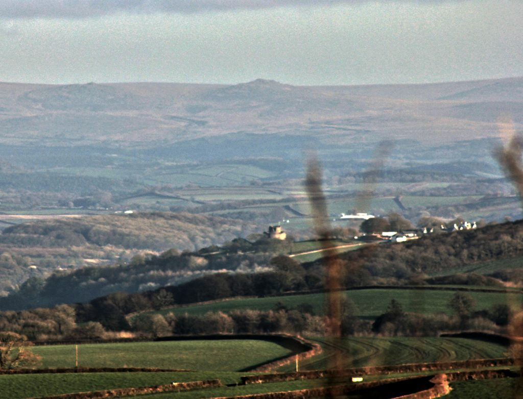 Launceston from Laneast Downs January 2017