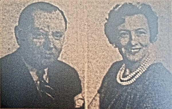 Mr. and Mrs. E. A. Hore