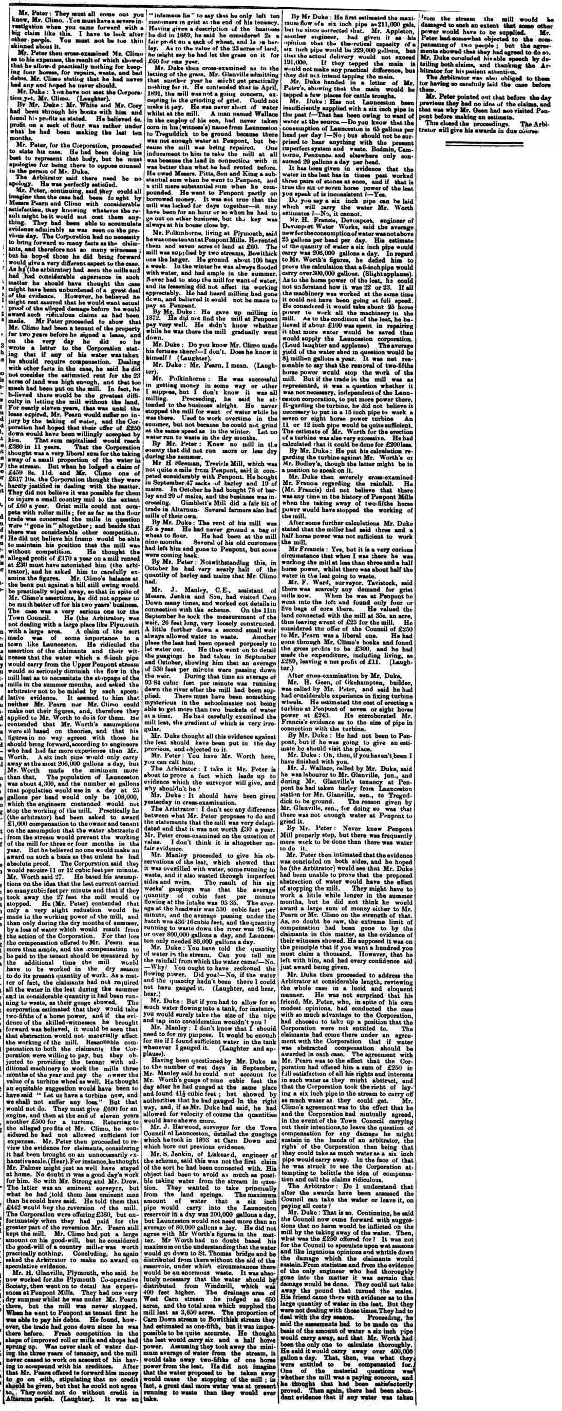 03 November 1894 part two