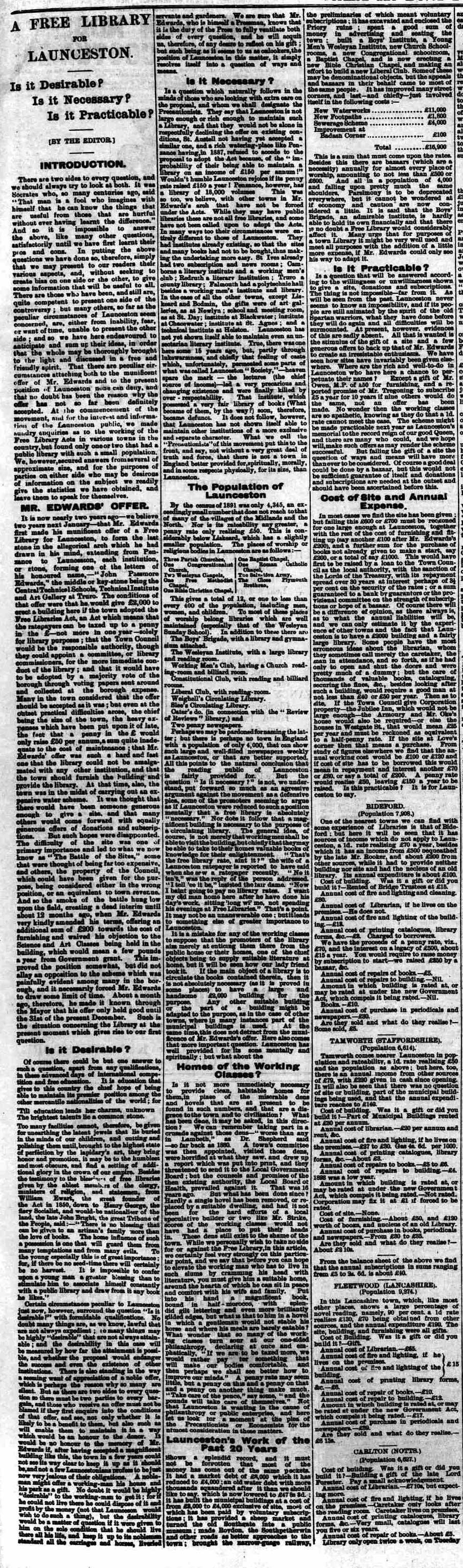 05 December 1896 part one