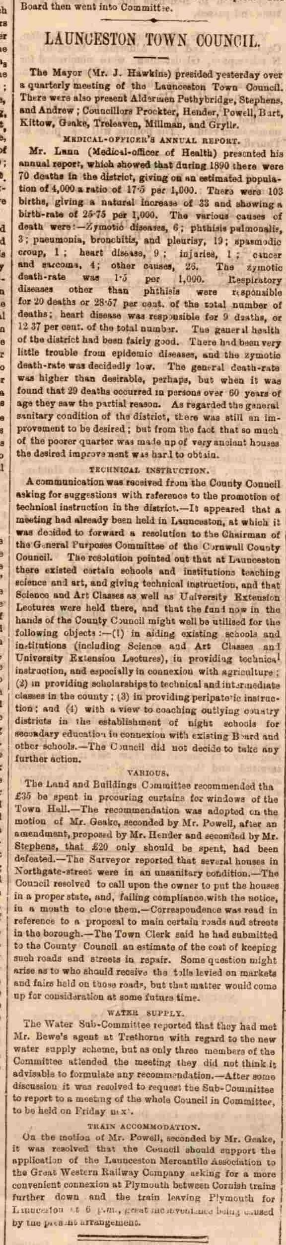 10 February 1891