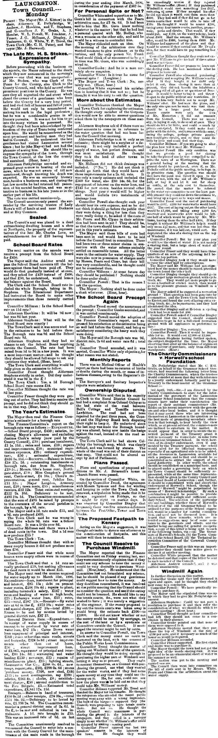 13 April 1895