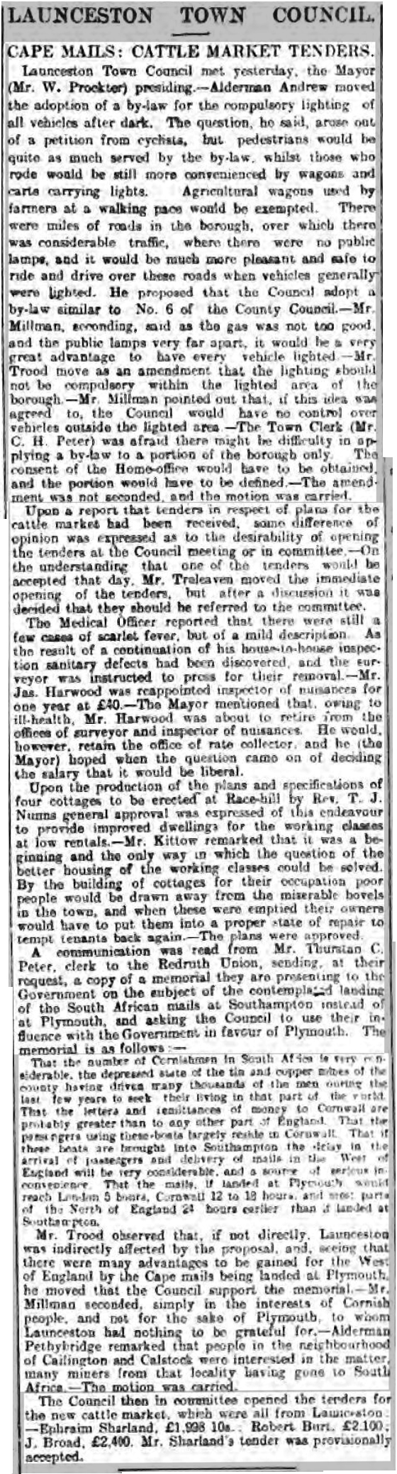 13 December 1898