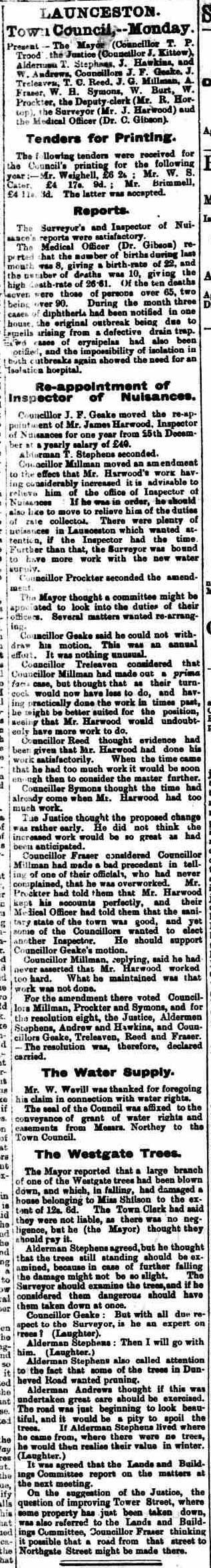 14 December 1895
