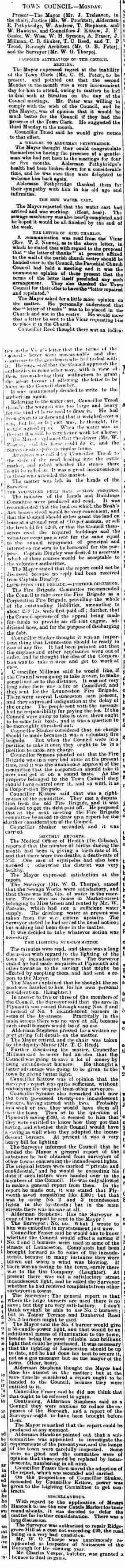 14 July 1900
