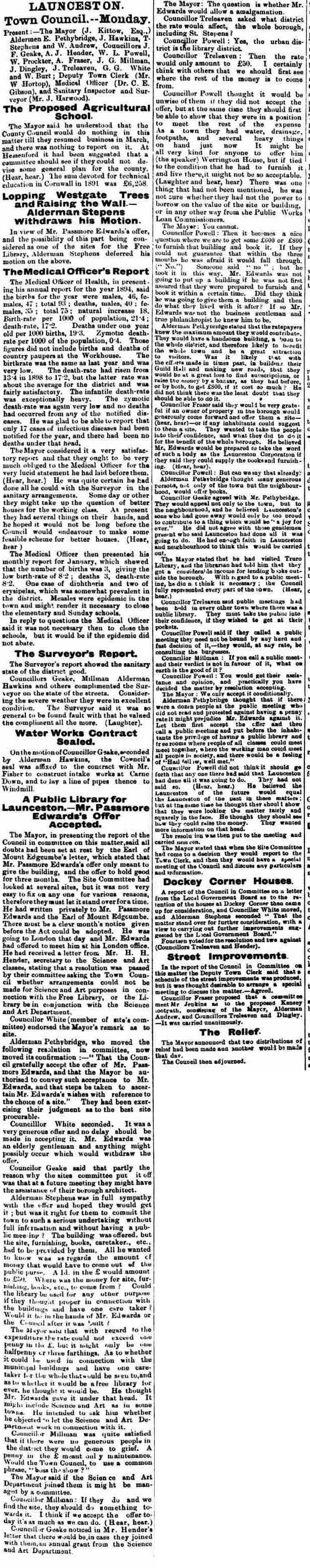 16 February 1895