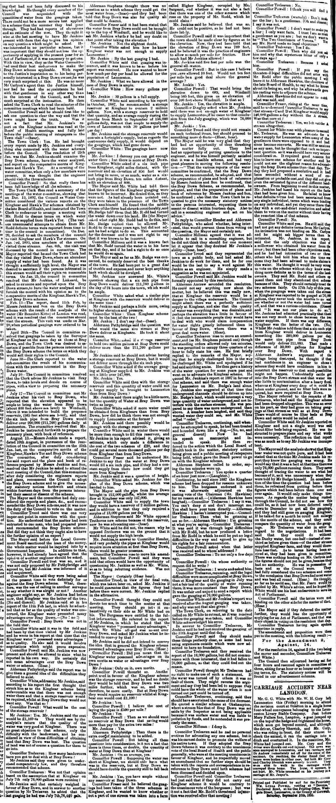 16 September 1893