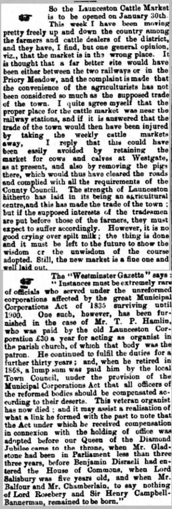 20 January 1900