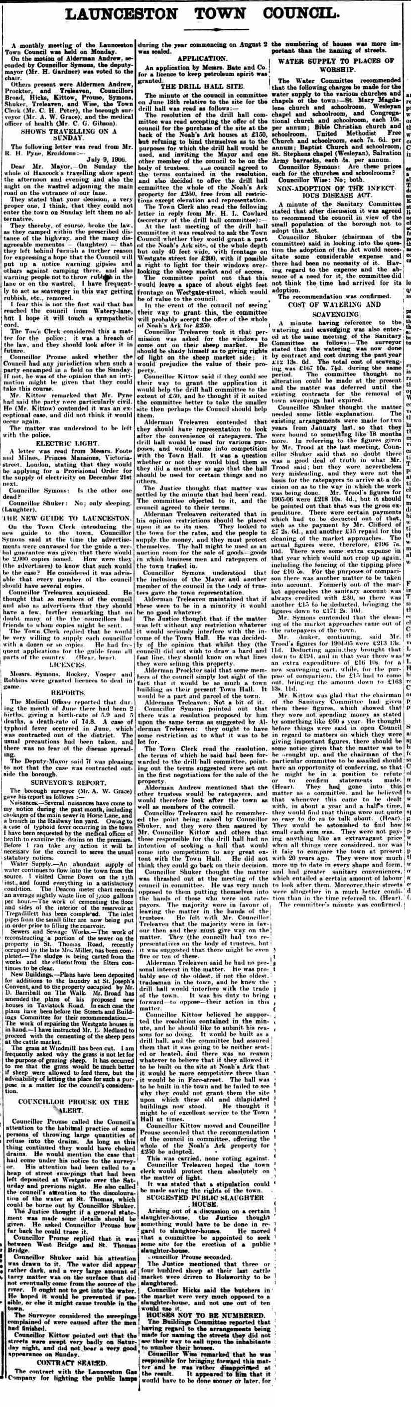 21 July 1906