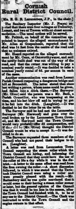 21 November 1896