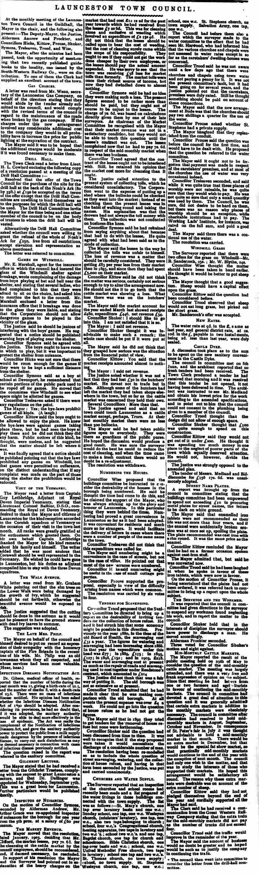 23 June 1906