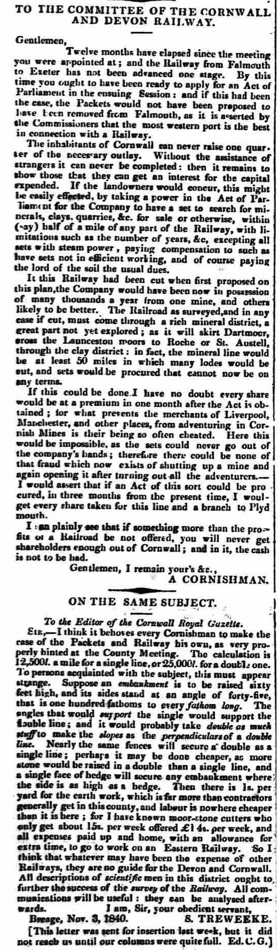 13 November 1840