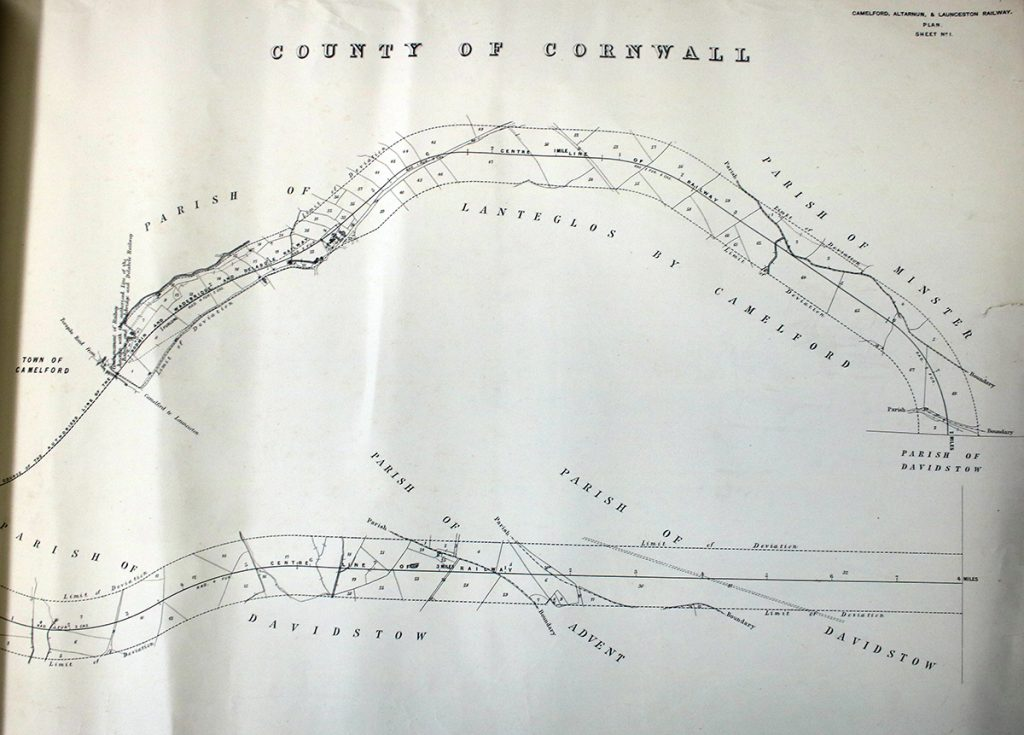 1874 Camelford, Altarnun and Launceston railway part 6