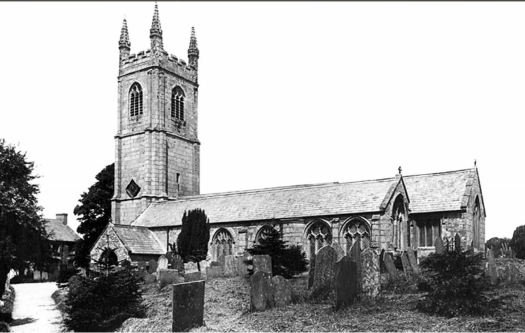 Stoke Climsland Church 1908