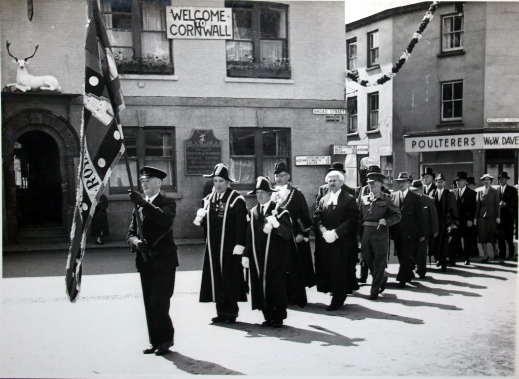 Civic procession for the Bath and West Show June 1955